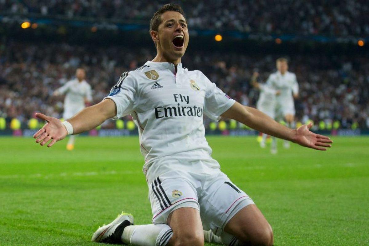 5. Javier Hernández (Manchester United) Foto:Getty Images. Imagen Por: