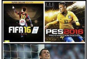 """Las burlas a Cristiano porque no aparece en el """"FIFA 16"""" ni en el """"PES 2015"""". Foto:Twitter. Imagen Por:"""