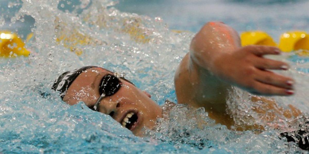 Köbrich ilusionó pero terminó quinta en aguas abiertas