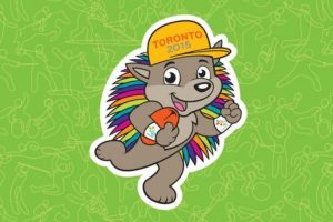El nombre de la mascota de Toronto 2015 es Pachi Foto:Vía twitter.com/TO2015_es. Imagen Por:
