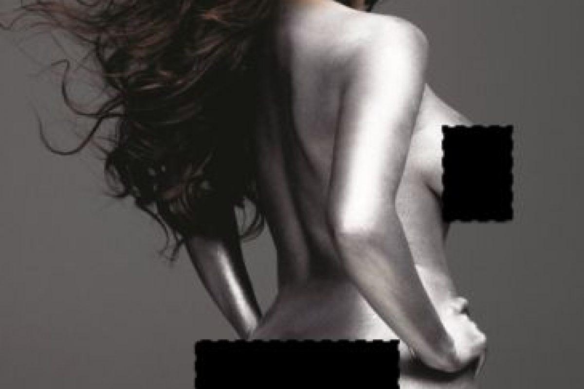 """Y el pelo debía quedar """"ondeando"""". Esto, en W Magazine. Foto:vía W Magazine. Imagen Por:"""