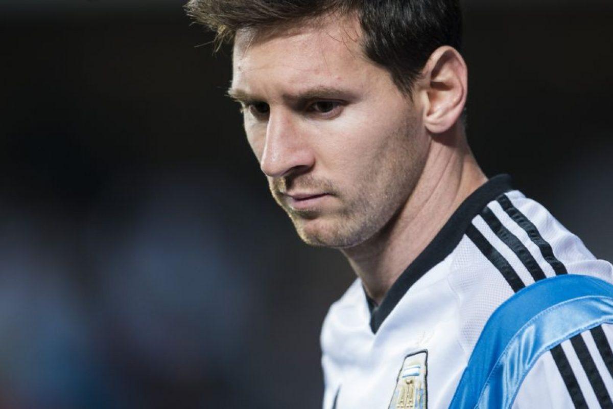 Lionel Messi fue muy criticado tras perder la final de la Copa América con Argentina. Foto:AFP. Imagen Por: