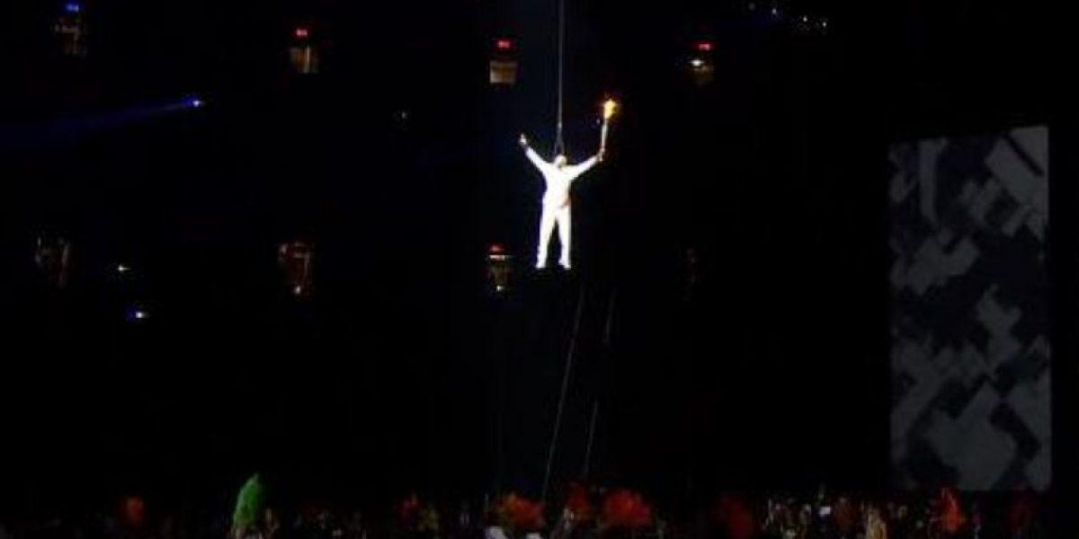 VIDEO: La espectacular llegada de la antorcha a la inauguración de los Panamericanos