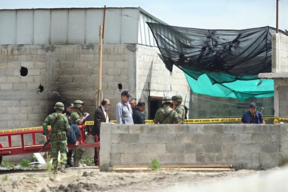 Este es el sitio en el que terminaba el túnes, el cual iniciaba en la celda de Guzmán Loera Foto:Luz Elena Pérez /LatitudesPress. Imagen Por: