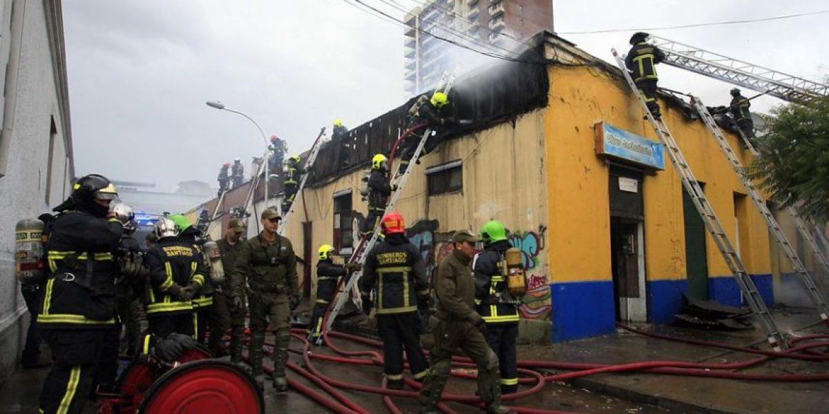 Incendio consume siete casas en Domeyko con José Miguel Carrera