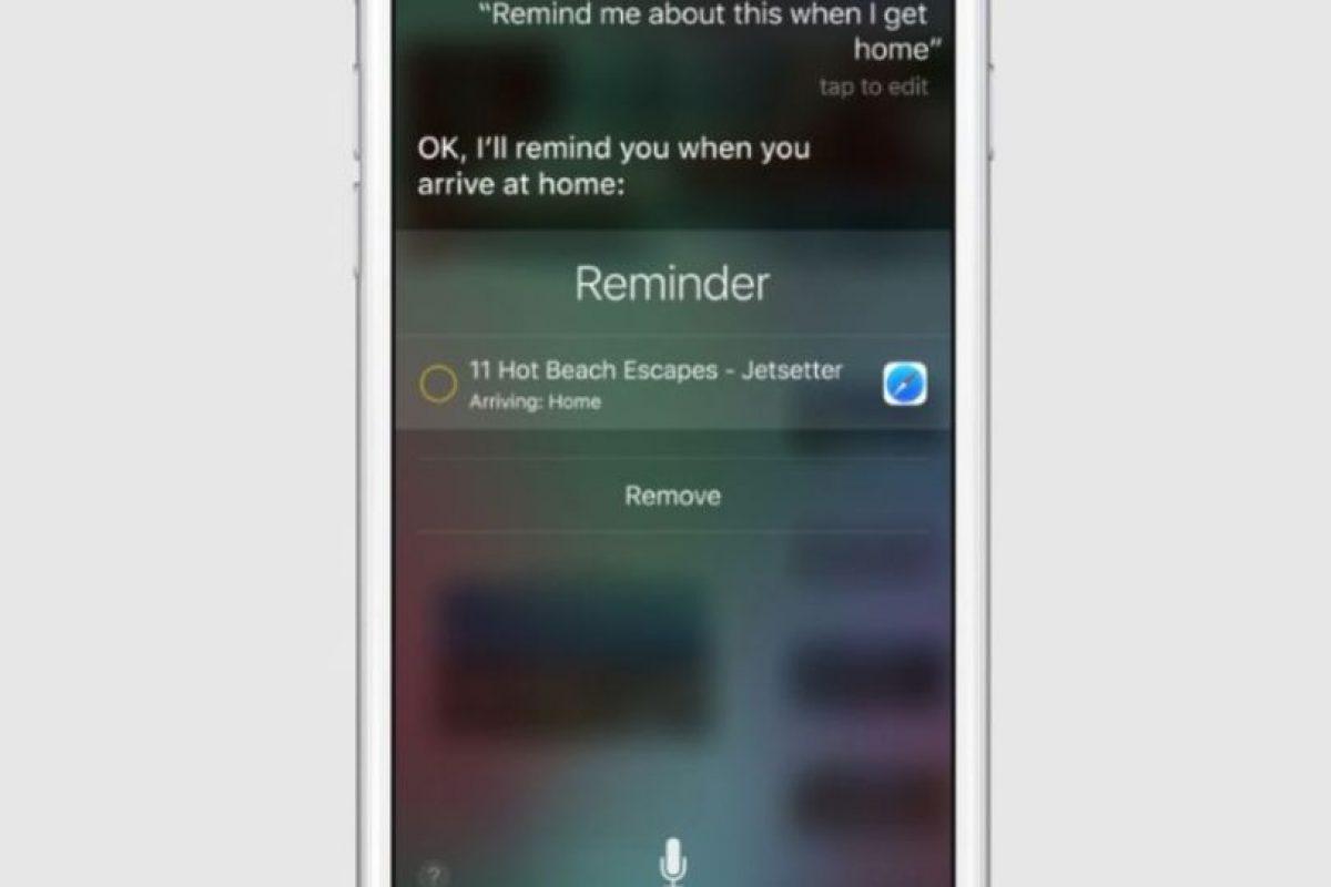 El cual podrá sincronizarse con Siri, además de otras aplicaciones como reproductores de música y aplicaciones de fotos. Foto:Apple. Imagen Por: