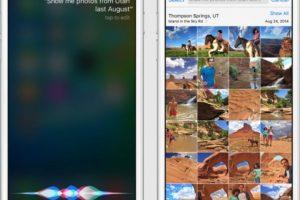 En la imagen pueden ver un ejemplo de como funcionaría el nuevo iOS 9 para iPhone. Foto:Apple. Imagen Por: