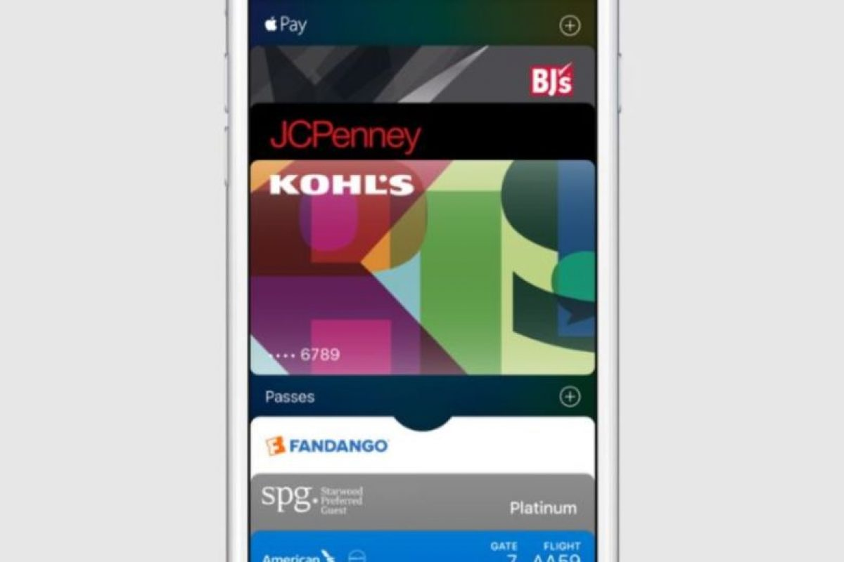 Antes Passbook, la cual les permitirá administrar sus distintas tarjetas de crédito. Foto:Apple. Imagen Por: