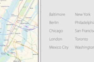 En las principales ciudades del mundo. Foto:Apple. Imagen Por: