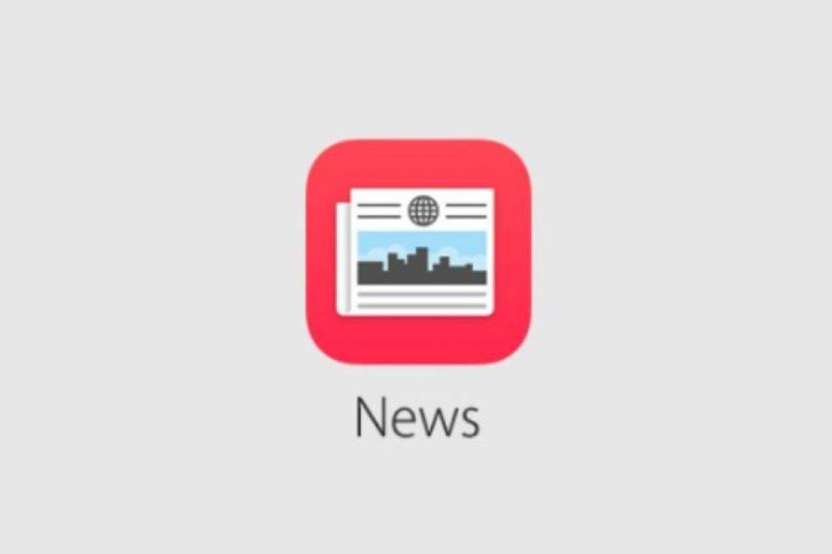 News permitirá ahora leer contenido de noticias e información en el momento. Foto:Apple. Imagen Por: