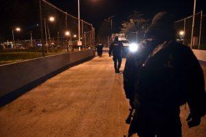 La alerta comenzó desde las 20:52 horas del sábado, cuando no se ubicó a Guzmán en el sistema de videovigilancia Foto:AFP. Imagen Por: