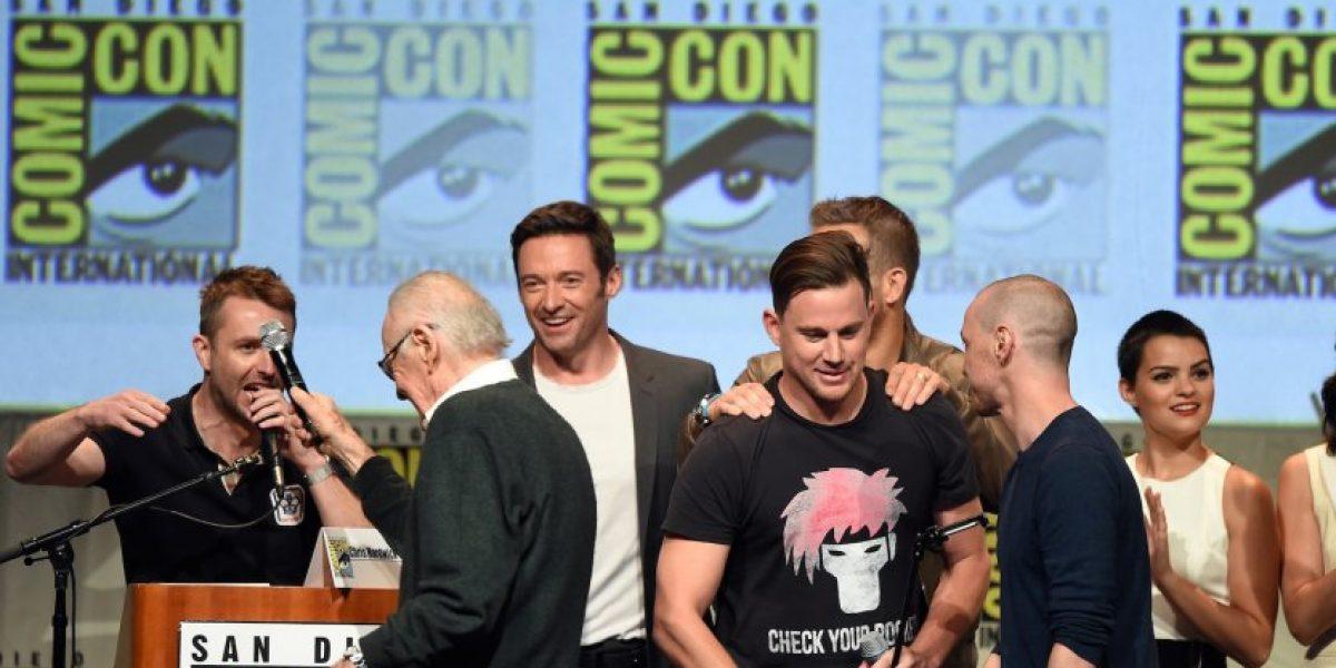 Stan Lee logró reunir a los superhéroes de Marvel en selfie