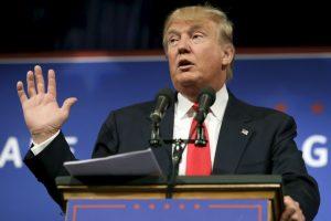 """""""Respeto a México, es grande como país. El problema que tenemos es que sus líderes son más inteligentes que los nuestros"""", dije ayer a CNN Foto:Getty Images. Imagen Por:"""