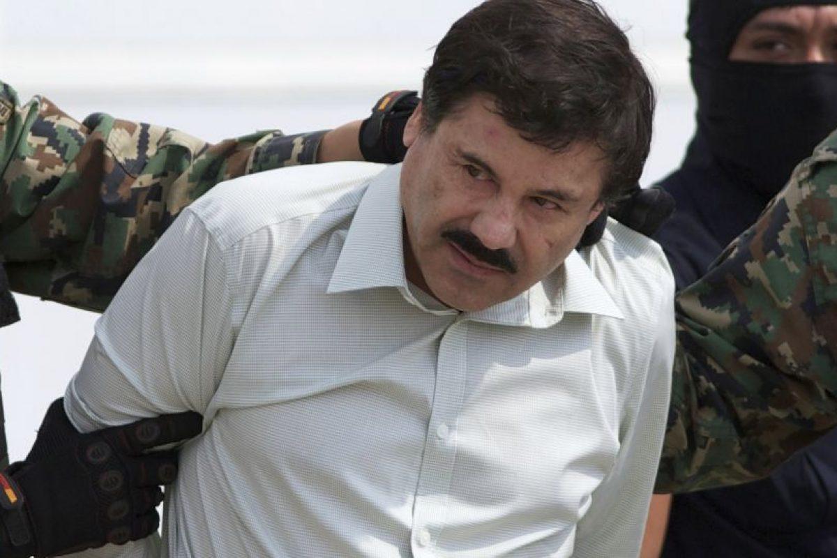 """La noche del sábado 11 de julio, el narcotraficante mexicano Joaquín Guzmán Loera """"El Chapo"""", escapó del penal de máxima seguridad de El Altiplano, después de pasar un año y 139 días preso. Foto:AP. Imagen Por:"""