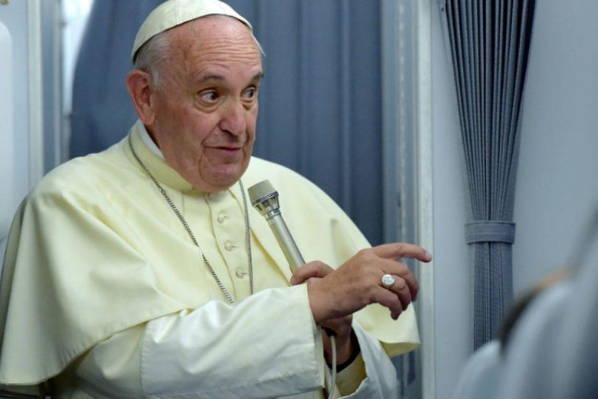 El Papa Francisco aseguró que entiende el significado de esa obra. Foto:AFP. Imagen Por: