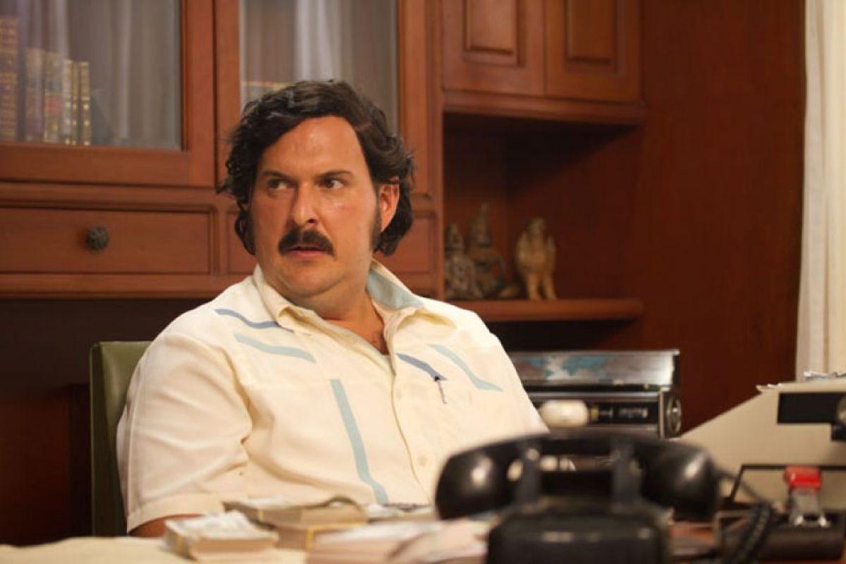 """Andrés Parra era """"Pablo Escobar"""", el narcotraficante más famoso de la Historia. Aterrorizó a Colombia a finales de la década de los 80 y fue uno de los hombres más ricos del mundo. Foto:vía Caracol Televisión. Imagen Por:"""