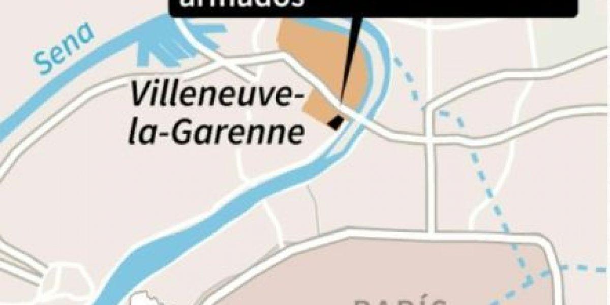 Policía francesa evacúa a 18 personas de centro comercial tomado por hombres armados