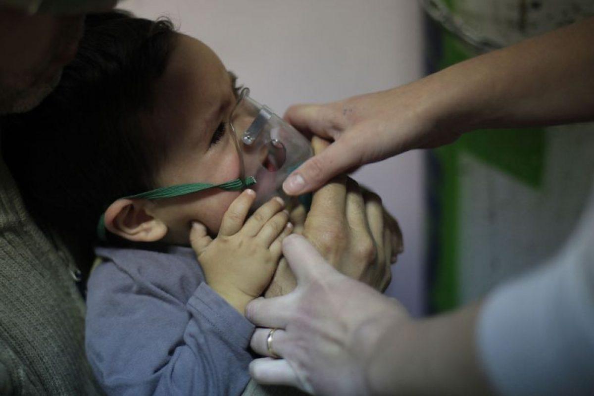 Se estima que entre 25 y 40% de los niños desarrollan una infección severa por Virus Respiratorio Sincicia. Foto:Agencia Uno. Imagen Por: