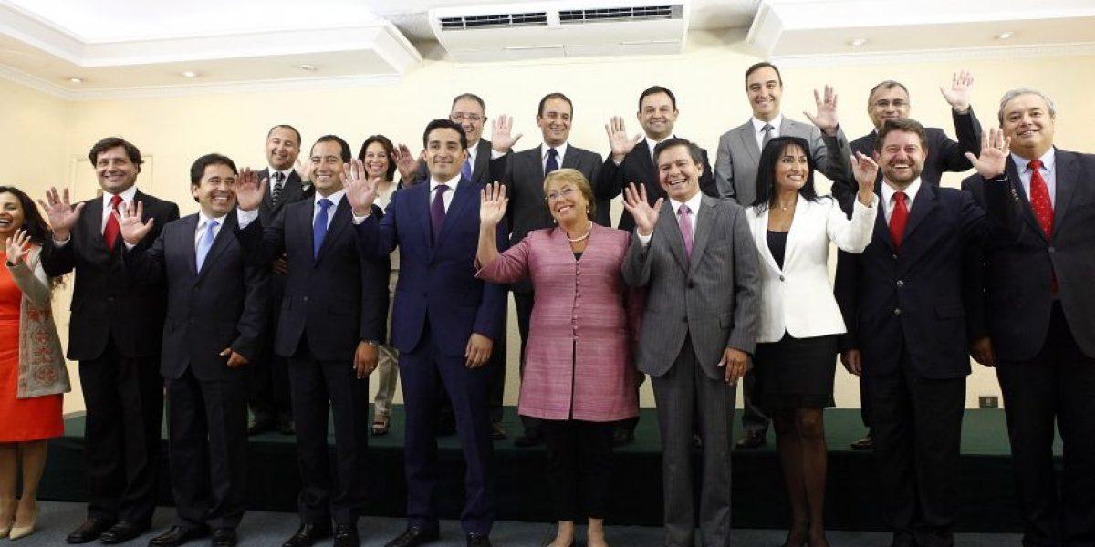 Gobierno realiza cambio de intendentes en cinco regiones del país