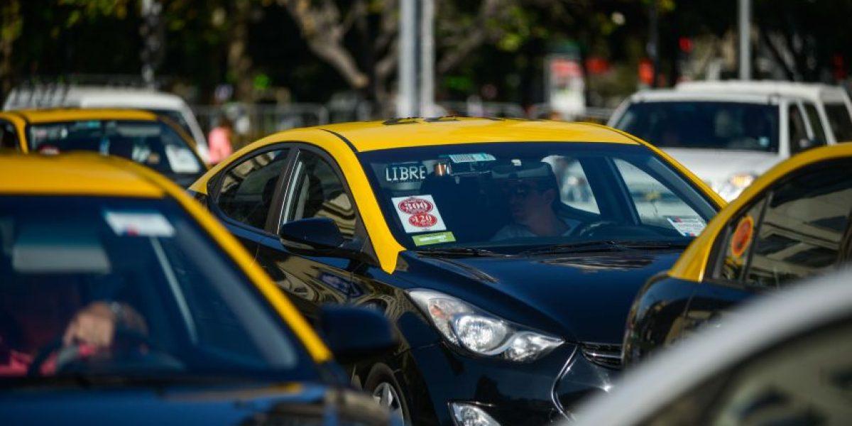 Tarifa de taxis subirá a partir de agosto en la Región Metropolitana