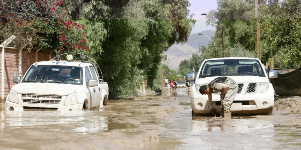 Balance Onemi: 15 mil clientes sin luz y 49 damnificados por lluvias