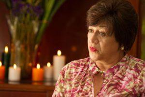 """Vicky Hernández era """"Doña Enelia"""", personaje basado en Hermilda Gaviria. Era la madre de """"Pablo Escobar"""". Foto:vía Caracol Televisión. Imagen Por:"""