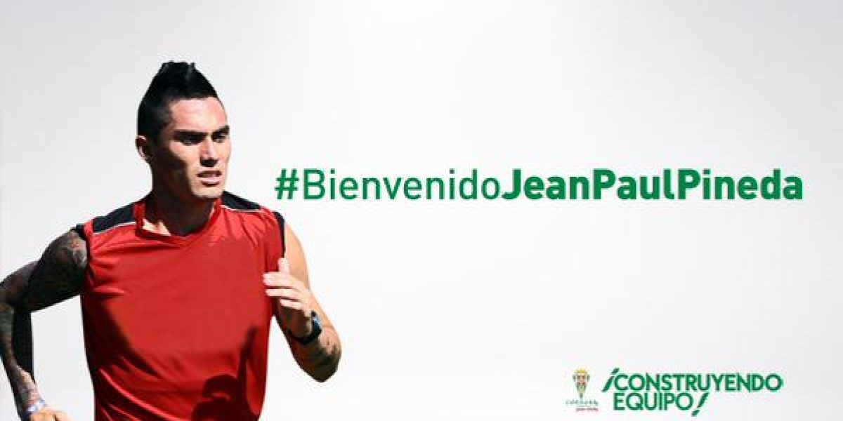 Jean Paul Pineda llegó a España