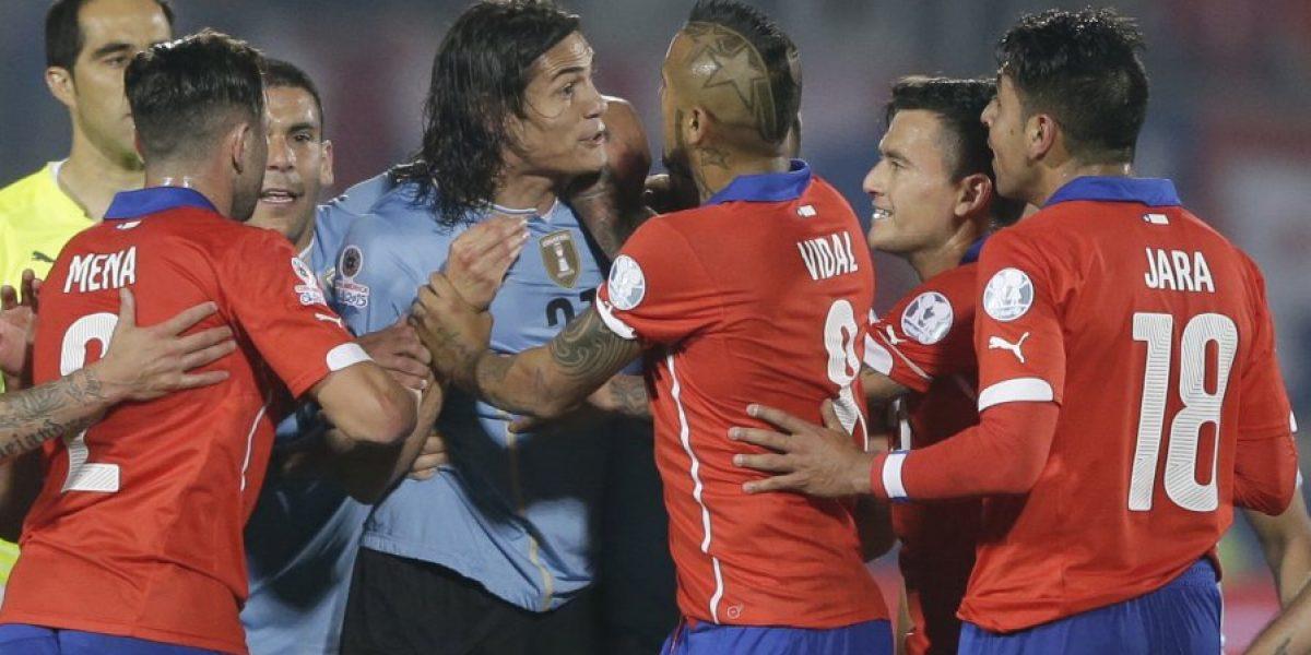 Madre de seleccionado chileno escupió a la familia de Messi en Copa América