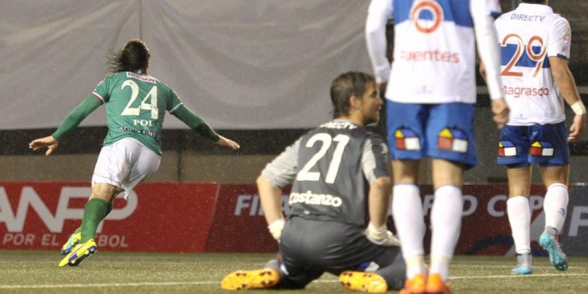 César Fuentes y derrota ante Audax: