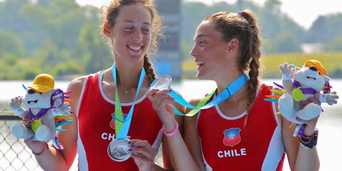 Medallista de plata en remo panamericano: