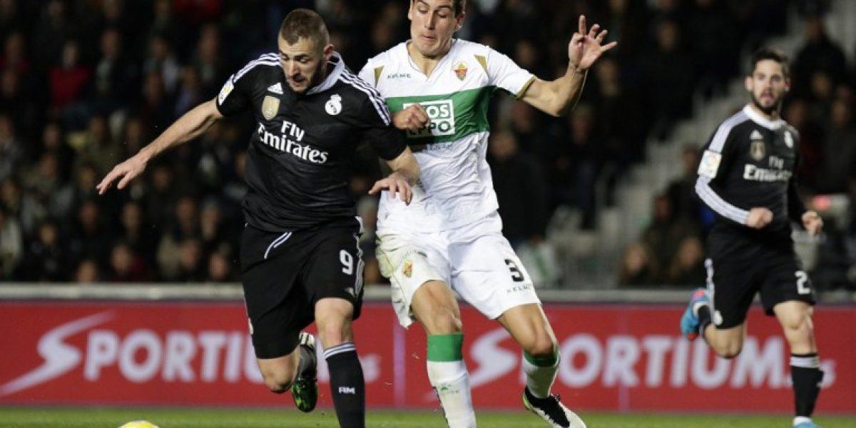 Enzo Roco sufre en España: Elche a Segunda División