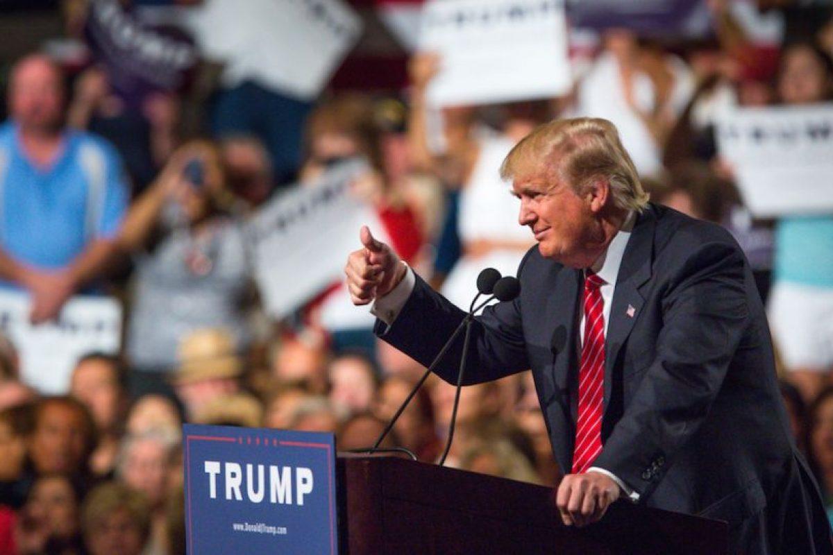 Así ha sido la campaña presidencial de Donald Trump Foto:Getty Images. Imagen Por: