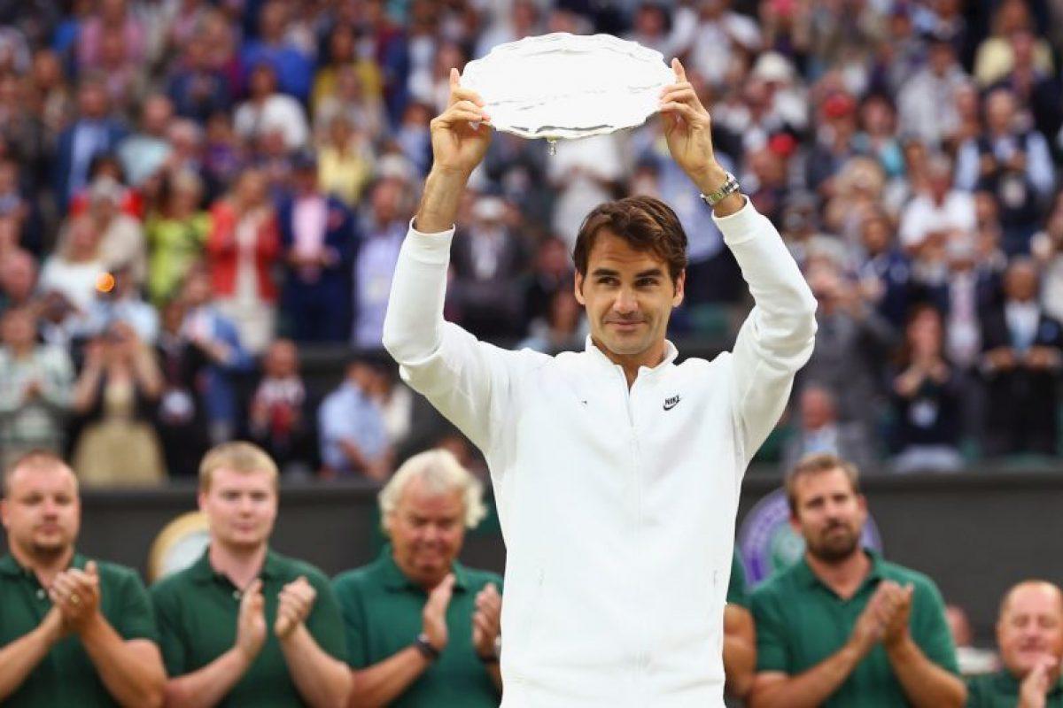 Federer sólo ganó el segundo set y se quedó sin su Grand Slam número 18. Foto:Getty Images. Imagen Por: