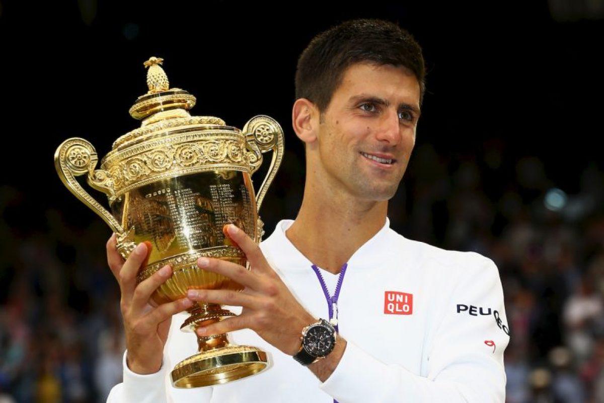 El triunfo fue para el serbio en cuatro sets. Foto:Getty Images. Imagen Por: