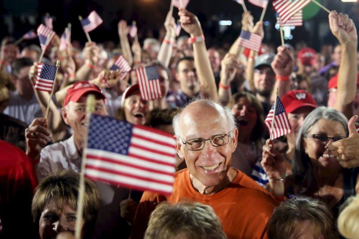 Miles de estadounidenses asistieron a la presentación. Foto:AFP. Imagen Por: