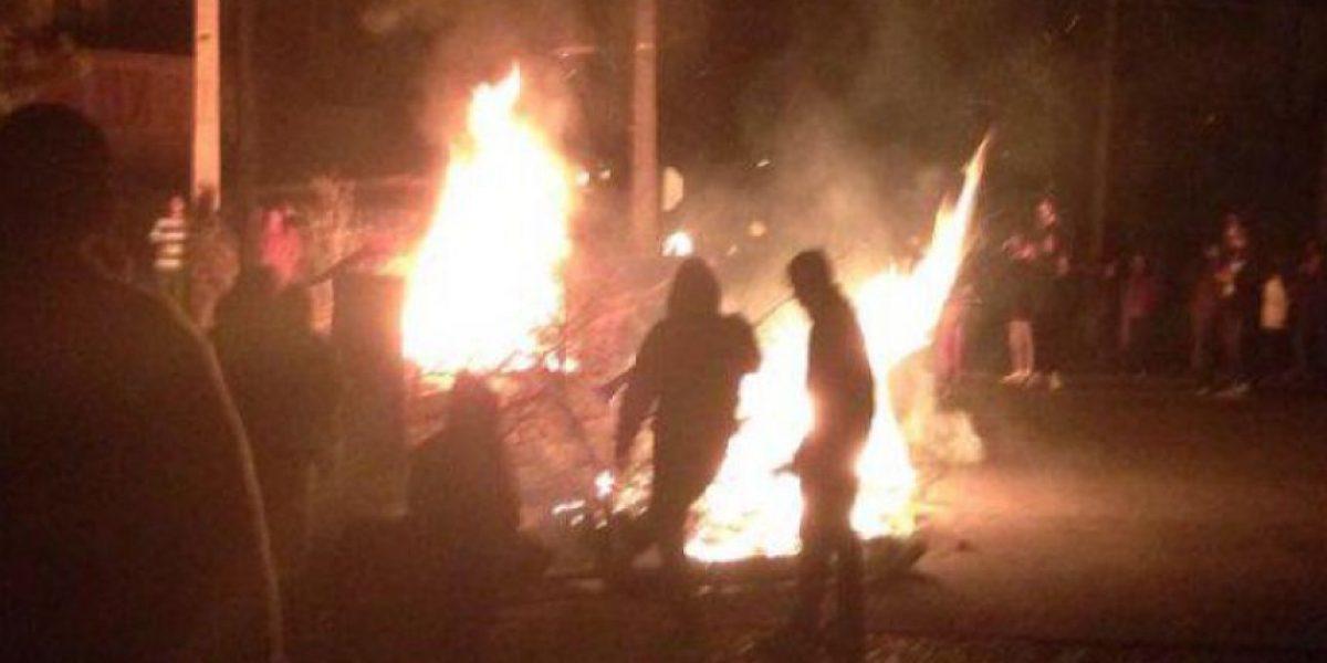 Vecinos de Maipú protestaron por extenso corte de luz tras temporal