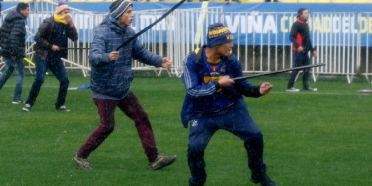 Everton presentó una querella por los incidentes en el estadio Sausalito