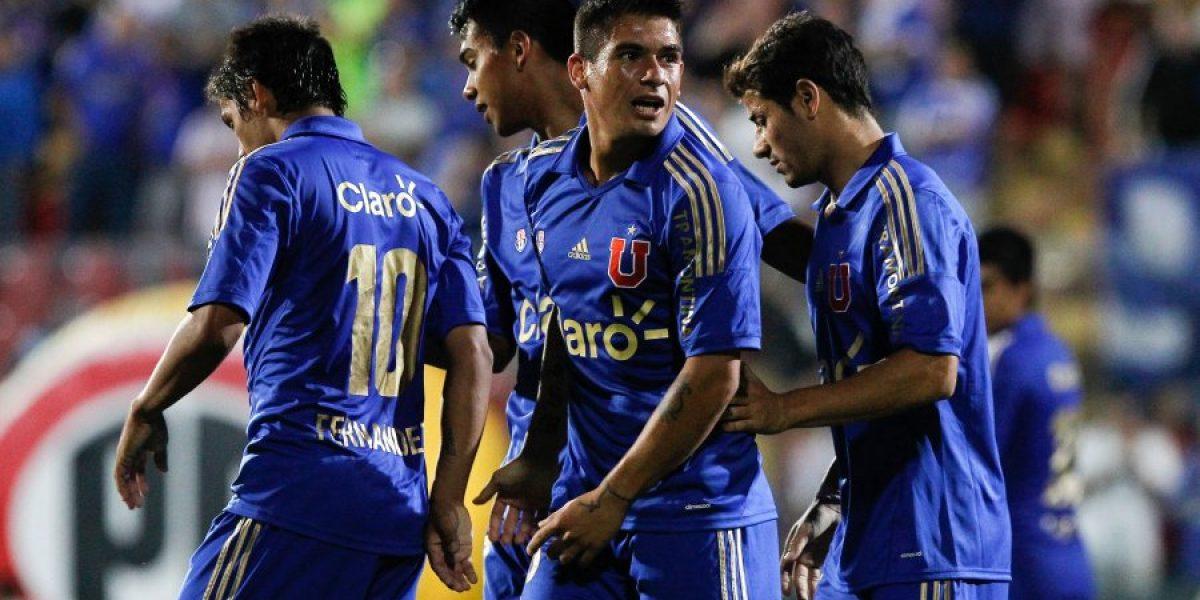 Universidad de Chile sufre dos bajas por lesión para el inicio del Apertura