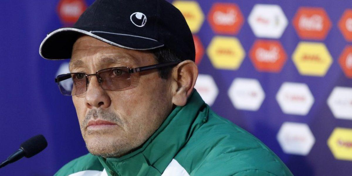 Bolivia decide rescindir a Soria tras un conflicto surgido en Copa América