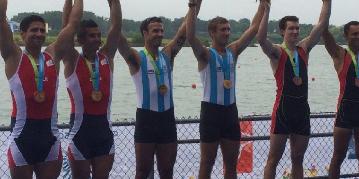 El remo llenó de gloria a Chile en una gran jornada en los Panamericanos