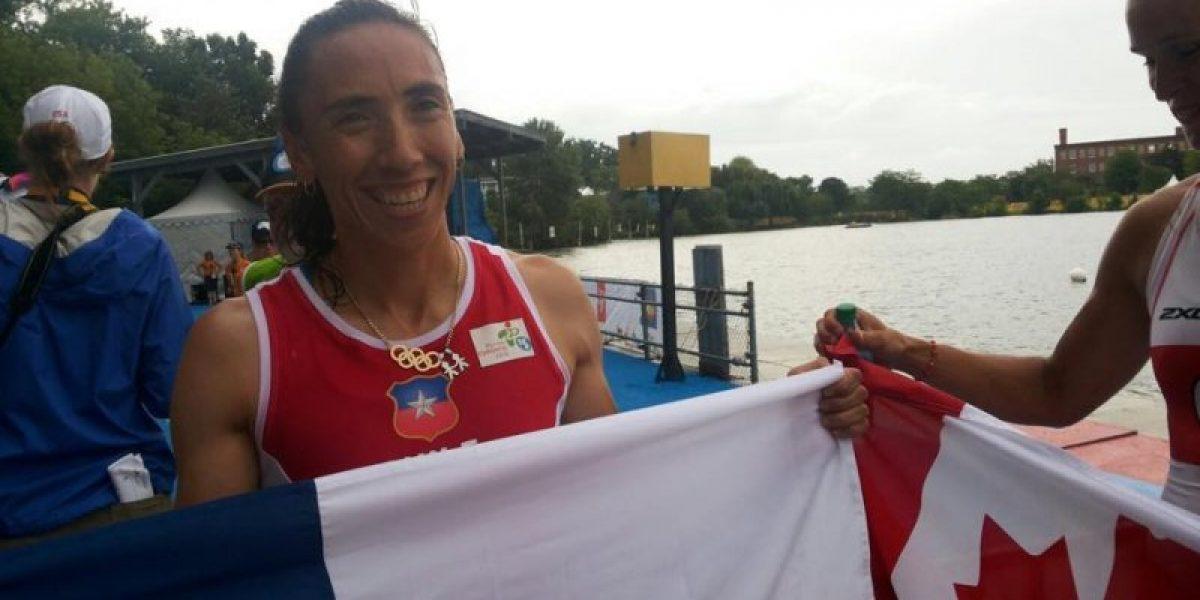 Soraya Jadue obtiene el tercer bronce para Chile en la final de remos cortos