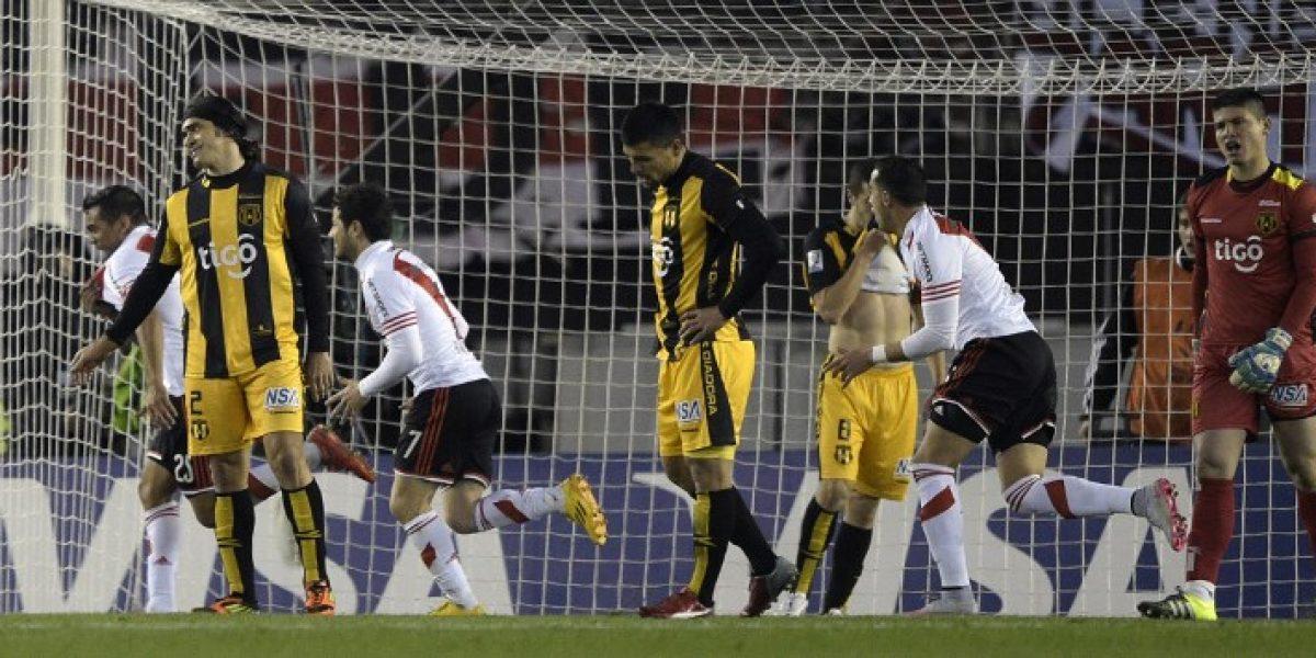 Con una joya del ex U Rodrigo Mora, River dio un gran paso a la final de la Libertadores