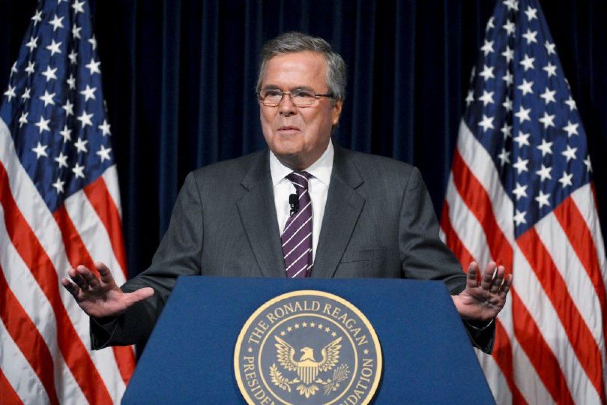 Jeb Bush continúa siendo el precandidato con mayor porcentaje que competiría con Clinton. Foto:Getty Images. Imagen Por: