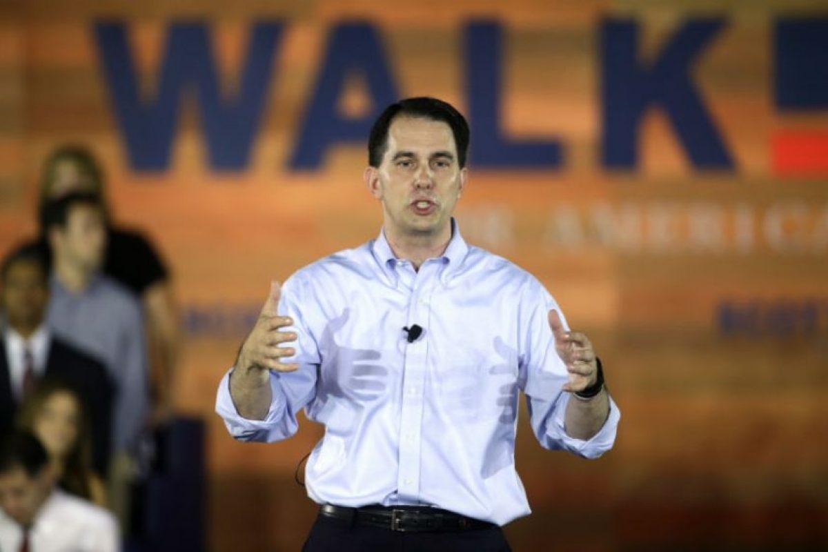Scott Walker anunció vía Twitter que se lanzaría a la contienda por la presidencia estadounidense. Foto:AP. Imagen Por: