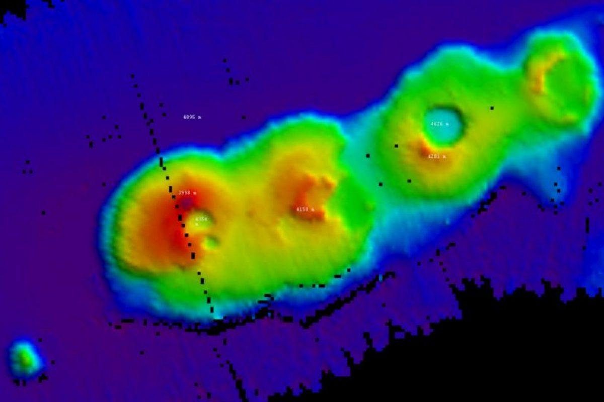 Científicos de la Universidad de Nueva Gales del Sur hicieron el descubrimiento a 250 kilómetros de la costa de Sydney. Foto:Vía csiro.au. Imagen Por:
