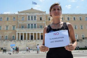 El cual incluye peores condiciones -para Grecia- que el propuesto antes del referéndum del 5 de julio Foto:AFP. Imagen Por: