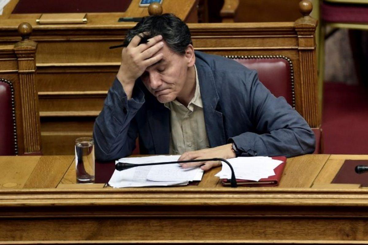Euclides Tsakalotos, nombrado ministro de Finanzas el pasado 6 de julio Foto:AFP. Imagen Por: