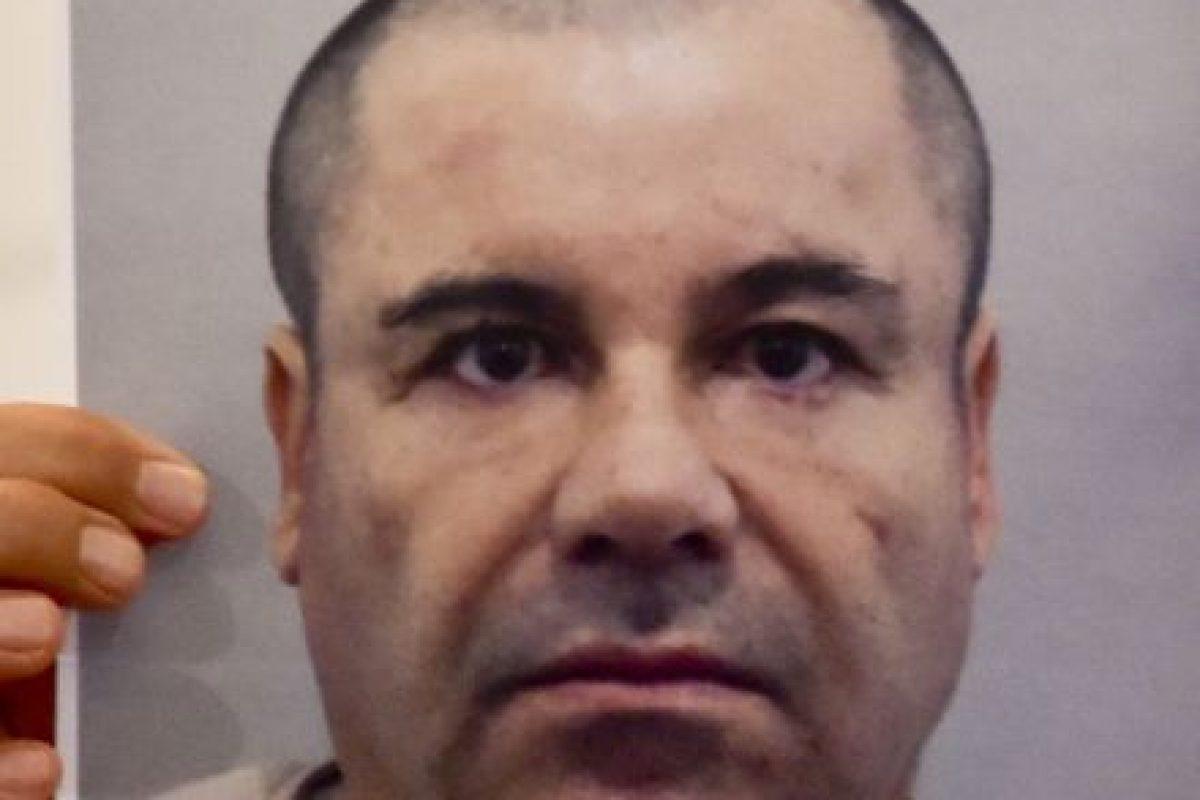 Esta fue la imagen presentada por la procuradora Arely Gómez, quien mencionó era la más reciente del criminal Foto:AFP. Imagen Por: