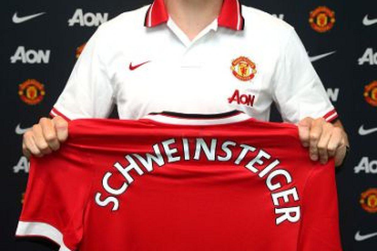 El campeón del mundo en 2014 es la nueva estrella del Manchester United. Foto:Getty Images. Imagen Por: