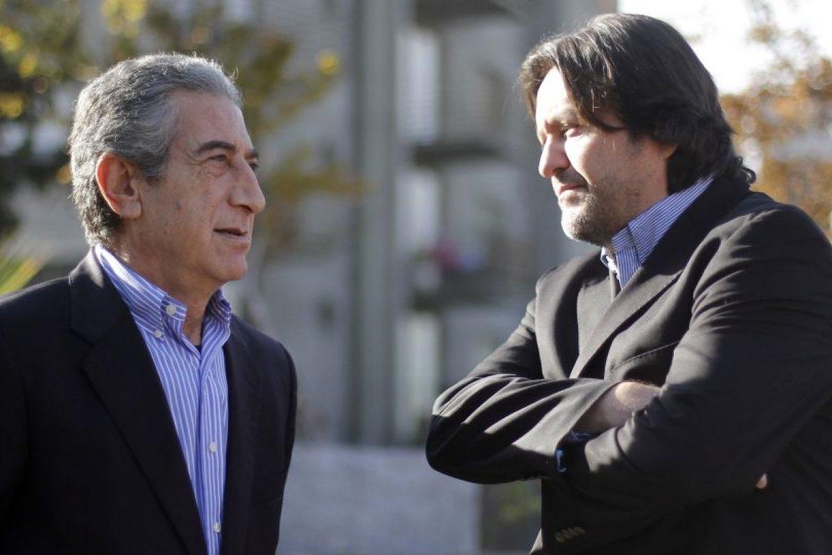 Diputados Jorge Tarud y Tucapel Jiménez, mbos del PPD. Foto:Agencia UNO. Imagen Por: